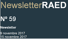 Newsletter RAED