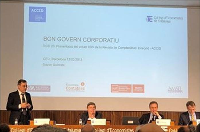 Presentación Bon Govern Corporatiu