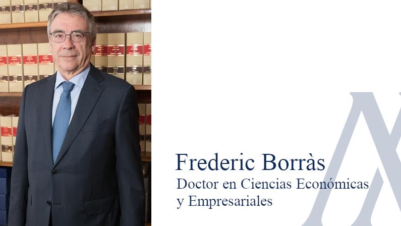 Frederic Borras, Dr. en ciencias Económicas y Empresariales