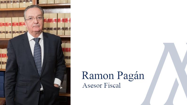 Ramón Pagán, Asesor Fiscal