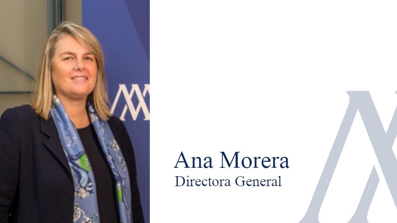 Ana Morera. Directora General